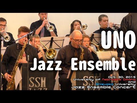 University of Nebraska Omaha Jazz Ensemble [Full Concert]  - Shizuoka University Oct. 30. 2015