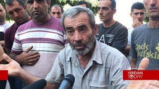 Ոռոգման ջուր չեն տալիս. Գյուղացիների բողոքի ցույցը