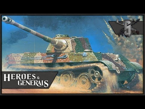 King Tigers Obliterate T-34's - Heroes and Generals - German