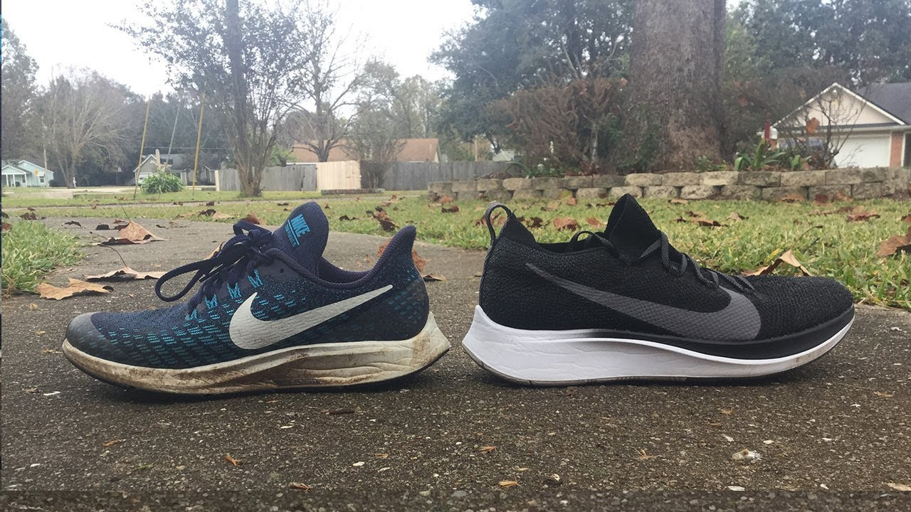 huge discount 1a97a 4ec7d Nike Zoom Fly Flyknit v.s. Nike Zoom Pegasus 35 (Review with sales, Nike  Zoom Fly Flyknit $80)