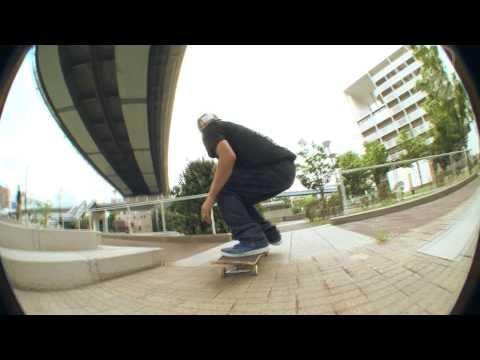"Skateboarding Osaka ""Throwaway"""