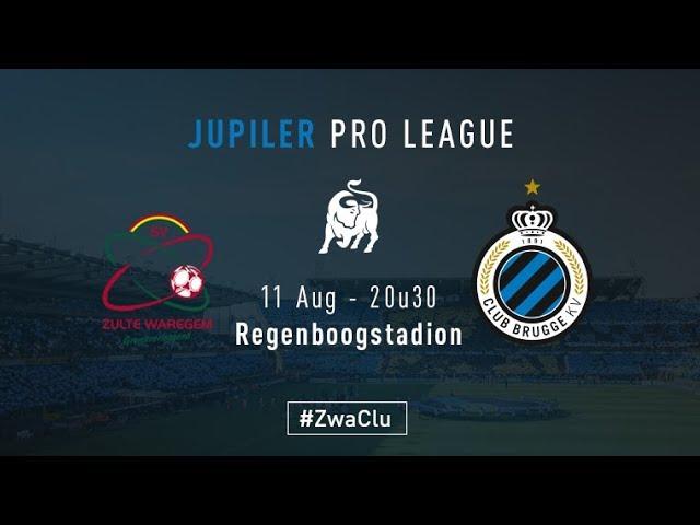 ZULTE WAREGEM - CLUB BRUGGE | Matchverslag | 2017-2018