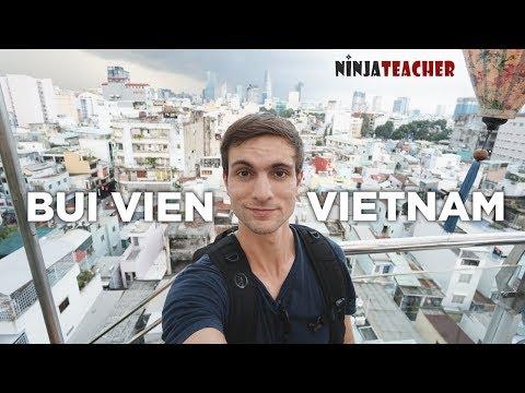 Vietnam's Infamous Party Street Tour (Bui Vien)