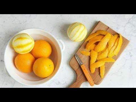 تحضرات رمضان ازي تستغلي قشر البرتقال والليمون وهنعمل بيهم مفاجآت وتحدي وهبهركم يعني هبهركم هههههه 😘