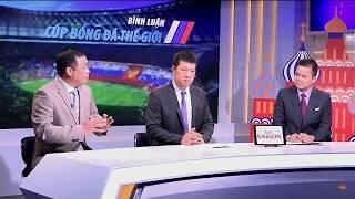 Bình Luận Cúp Bóng Đá Vô Địch Thế Giới 2018 (ngày 20/6/2018)   BLV Quang Huy