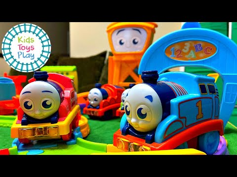 My First Thomas and Friends Railway Pals Train Races and Crashes