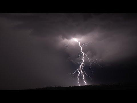 First Summer Rain Storm - Thaba Manzi Ranch - SONY Cyber-shot DSC-H55