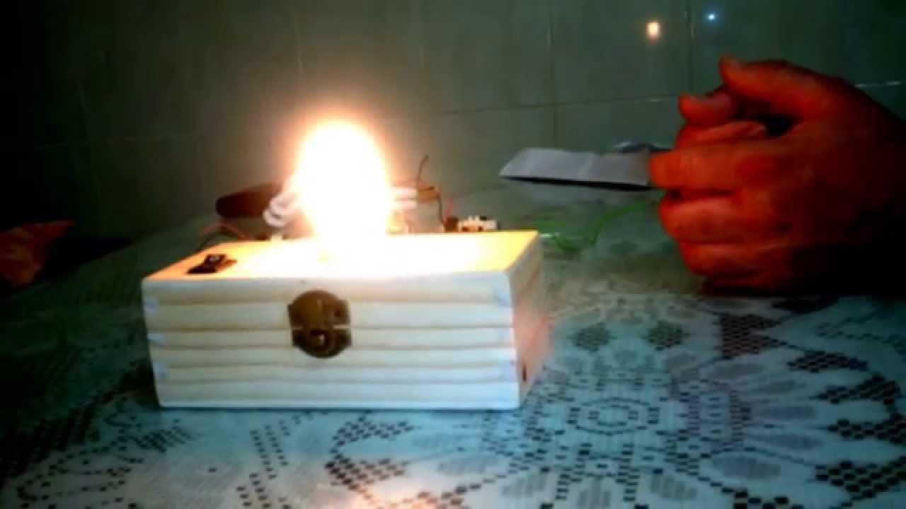 sistema de iluminaciòn automatica para personas sin energia
