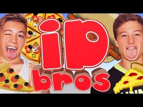 ID Bros. Илья и Дэн. Настоящая пицца. Офигенно вкусно.