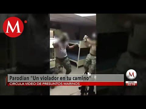 """VIDEO: Marina también hace parodia del himno """"Un violador en tu camino"""""""