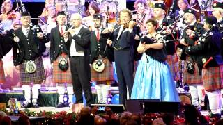 ANDRE RIEU - SCOTLAND THE BRAVE/AMAZING GRACE [HD] - LIVE IN MANCHESTER 2012