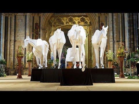 Невероятные объёмные бумажные скульптуры Ричарда Суини (Richard Sweeney)