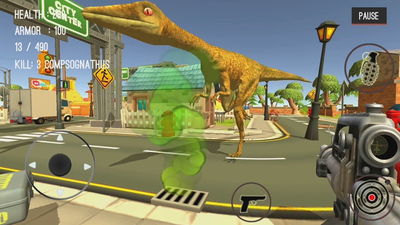 Dinosaur Hunter Dino City 2017 Android Gameplay #14  #Smartphone #Android