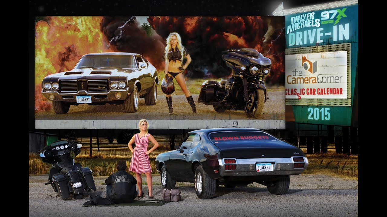 2015 dwyer  u0026 michaels classic car calendar behind