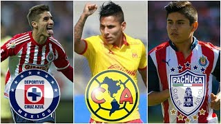 DRAFT LIGA MX: Brizuela A Cruz Azul, Ruidiaz Al America, Chofis Se Va De Chivas