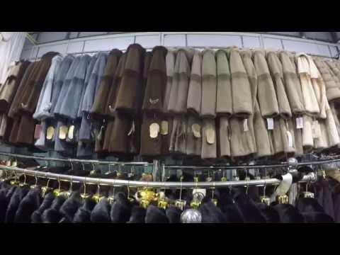 Магазин шуб в Китае