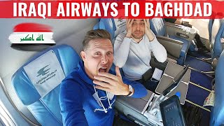 Review: ODD FIRST CLASS Flight on IRAQI AIRWAYS to BAGHDAD!