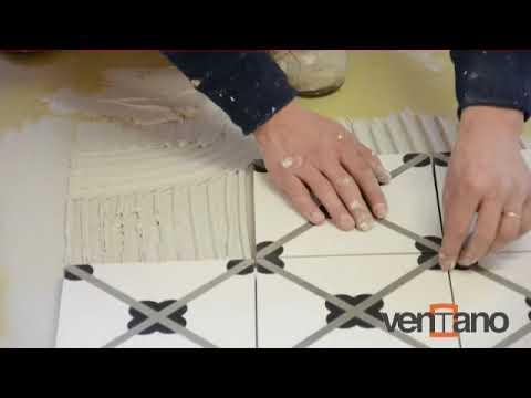 traditionelle zementfliesen verlegen ventano zementfliesen youtube. Black Bedroom Furniture Sets. Home Design Ideas