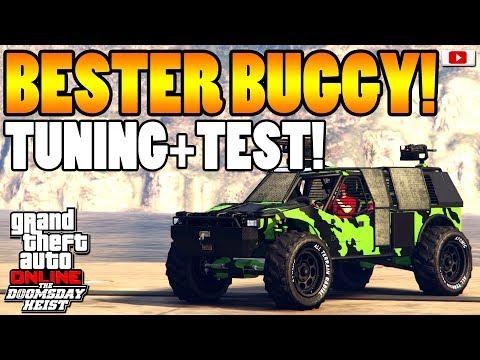 🚘🛠Bester Militär-Buggy! BARRAGE Tuning + Test!🛠🚘 [GTA 5 Online Doomsday Heist Update DLC]