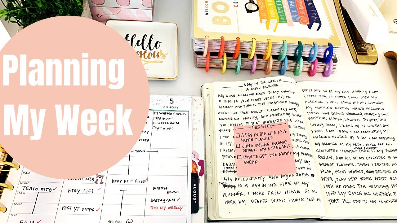 Planning My Week | Plan With Me
