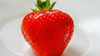 LEARN GERMAN Picture Dictionary  ► die Erdbeere ⇔ strawberry ◄ Vocabulary   Example Sentences
