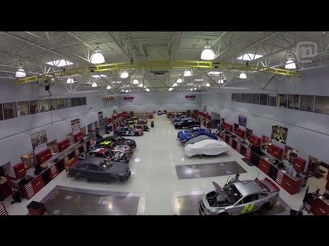 Garage Tours With Chris Forsberg: Episode 5, Hendrick Motorsports tour with Jeff Gordon
