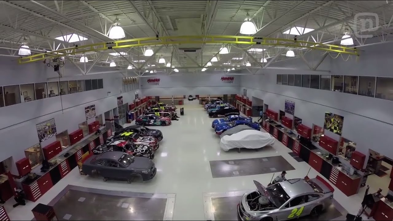Nascar Garage Tours