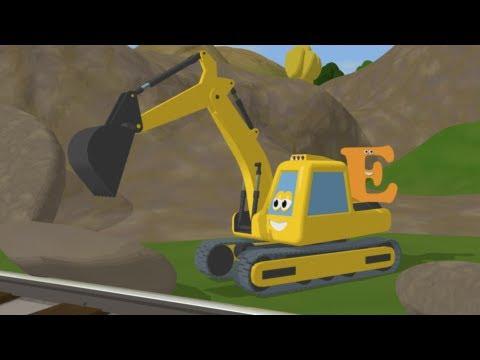 Trenulete - Descopera litera E cu trenuletul Shawn