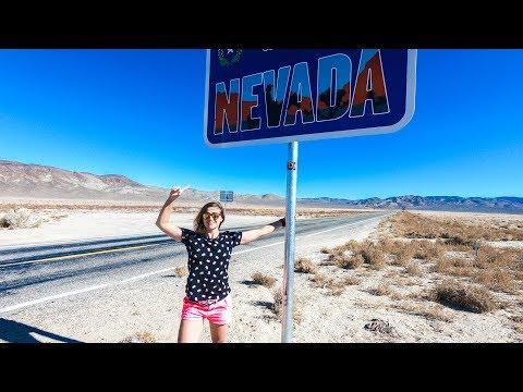VLOG : DU DESERT DU NEVADA A LA FOLIE DE LAS VEGAS!
