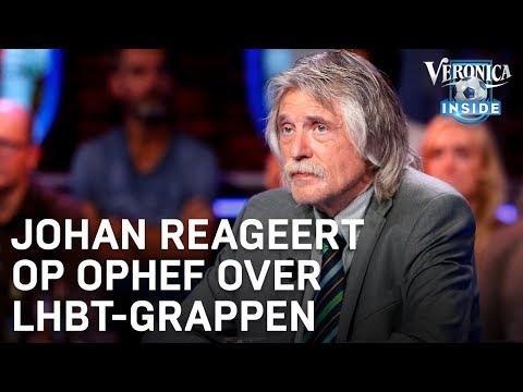 Johan reageert op ophef over LHBT-grappen | VERONICA INSIDE