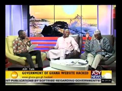 Government of Ghana Website Hacked - AM Talk (21-1-15)