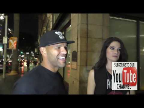 Amaury Nolasco talks about new Prison Break TV  outside Katsuya Restaurant in Hollywood