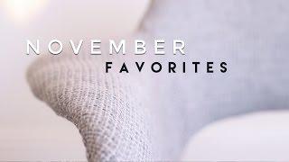 November Favorites 2015