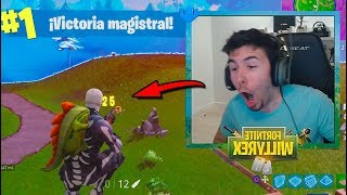 El DISPARO que NADIE ESPERABA! Fortnite: Battle Royale