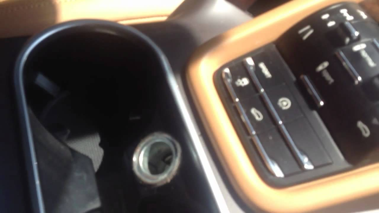 maxresdefault how to fix a bad cigarette lighter on a 2012 porsche cayenne youtube  at reclaimingppi.co