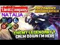 Epic Comeback  Limit Company Natalia Mobile Legends
