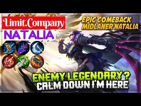 Epic Comeback [ Natalia Limit Company ] Limit.Company Natalia Mobile Legends