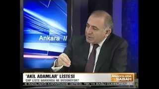 Gürsel Tekin, Cihan Tv - Anadolu'da Sabah Programı (04.04.2013)