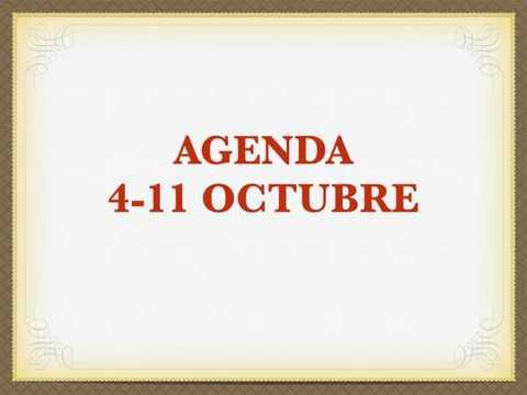 Agenda diócesis de Santander del 4-11 octubre. Popular TV Cantabria