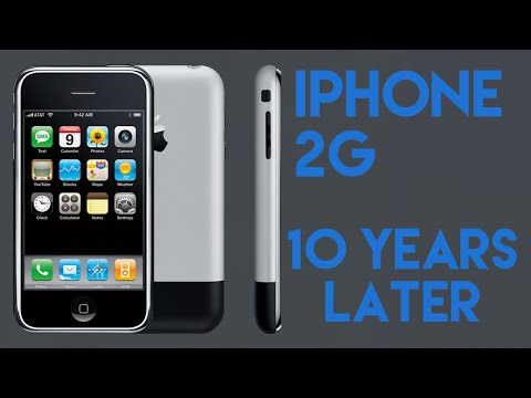 Using the iPhone 2G in 2017