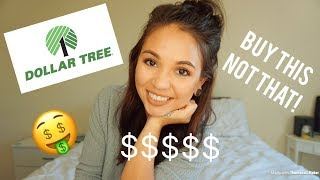 Guide to shopping at the Dollar Tree | What to Buy, What not to Buy