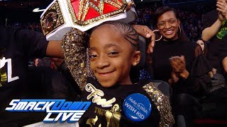 """""""The Shadow"""" Kaitlyn Alexander becomes an honorary WWE Superstar: Exclusive, Dec. 19, 2017"""