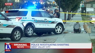 Police investigate shooting in West Valley City