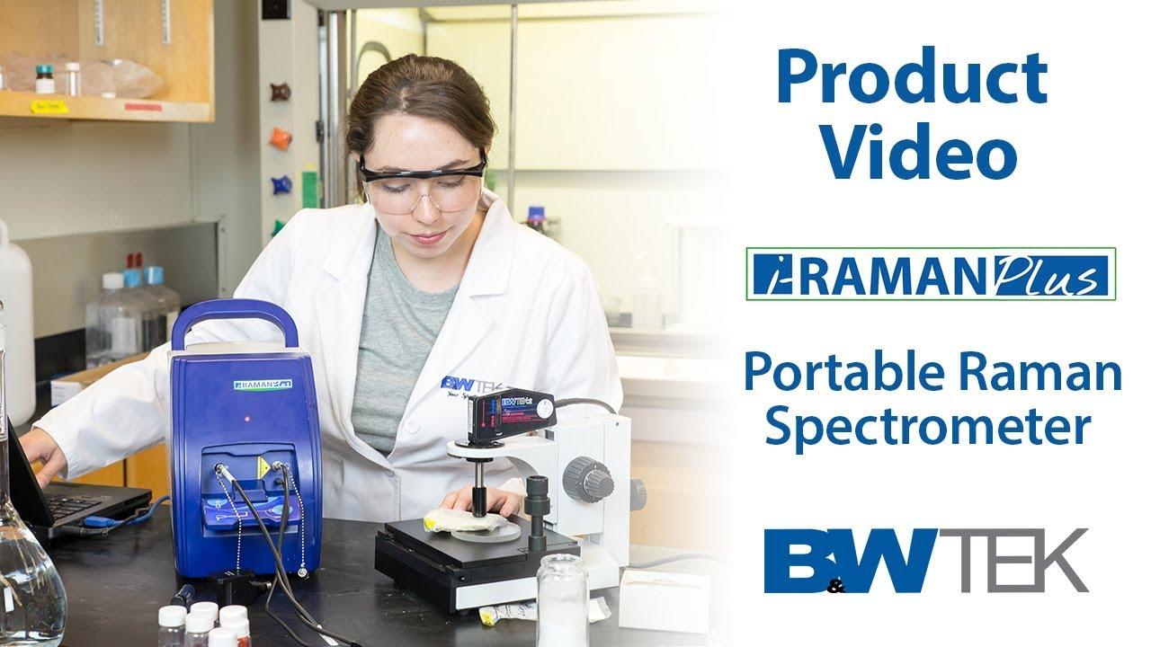 I Raman Portable Raman Spectrometers From B W Tek Youtube