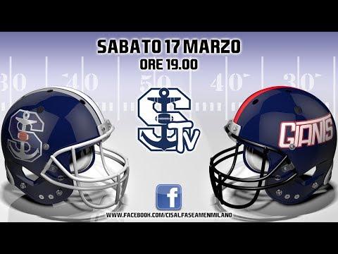 Seamen Milano vs Giants Bolzano