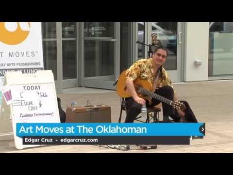Art Moves at The Oklahoman - Edgar Cruz