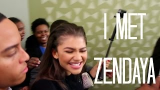 MEETING ZENDAYA! | HelloStayVlogging
