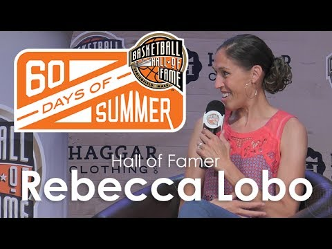 Rebecca Lobo - 60 Days of Summer 2017 interview