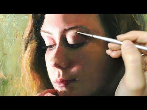 Oil Painting Time Lapse | Shadow Portrait