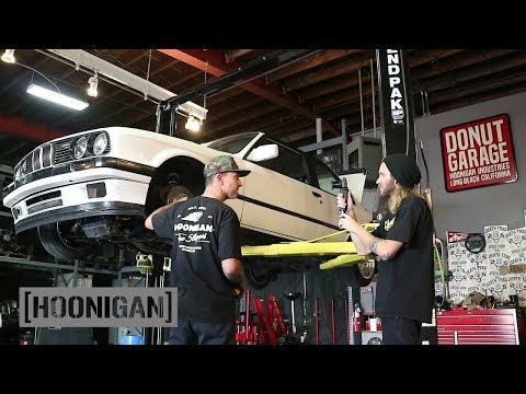 [HOONIGAN] DT 072: BMW E30 Driveshaft Repair and Coilover Tune